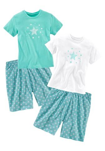 PETITE FLEUR Mädchen пижама (2 единицы с Звезд...