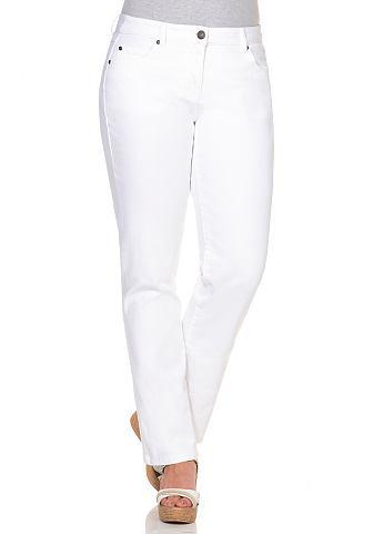 Прямого кроя узкие джинсы