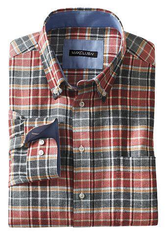 Рубашка с длинными рукавами из мягкий ...