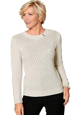 Пуловер с Strickmuster