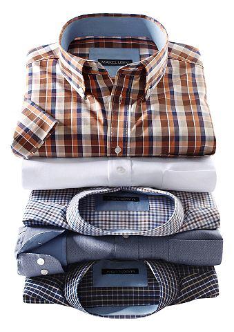 Рубашка с коротким рукавом с карман