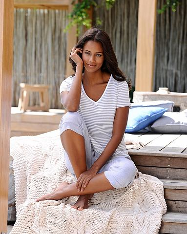 Пижама-капри с geringeltem футболка и ...