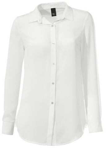 heine CASUAL Блузка с кружевом с Plissee-Falten