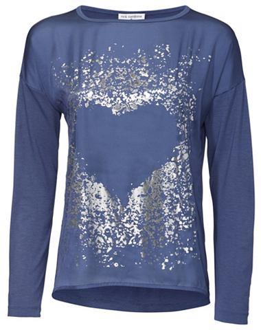 Объемный футболка с Metallic-Effekt