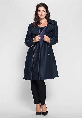 Пальто короткое с Ornamentmuster