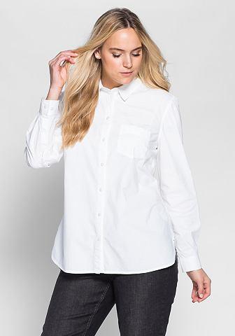 Блузка длинная из чистый хлопок