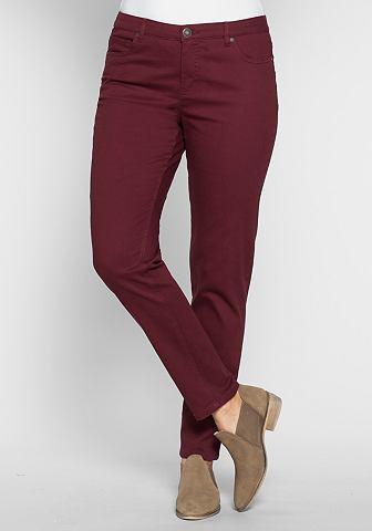 Узкий брюки стрейч в Five-Pocket-Style...
