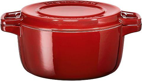 Kitchen Aid кастрюля для тушенья кругл...