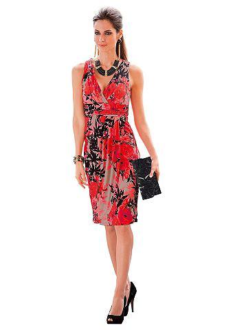 Платье из джерси в kontrastreichem Bl