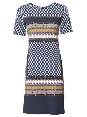 heine CASUAL Платье из джерси с сочетание узоров