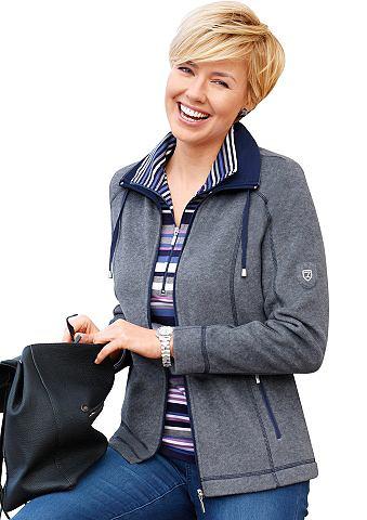 Флисовая куртка с Umlegekragen