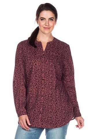 Блуза с с V-образным вырезом