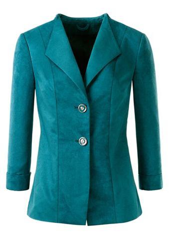 Пиджак в мягкий имитация замша