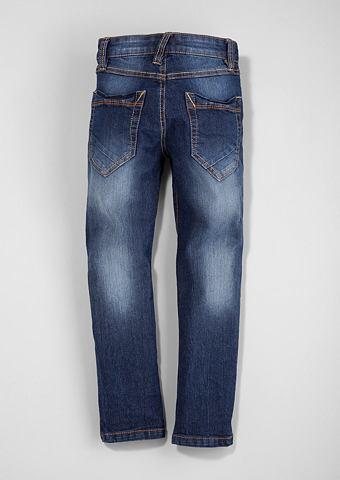 Brad: узкие джинсы с имитация тертый т...