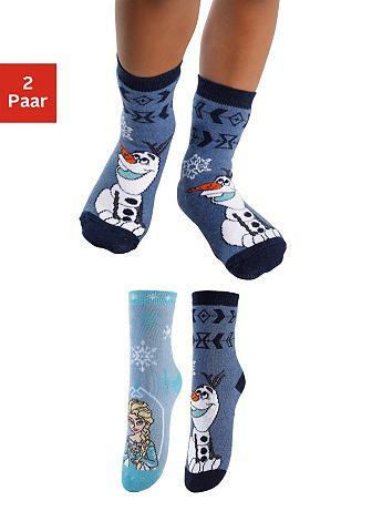 Frozen носки детские (2 пар) с разный ...