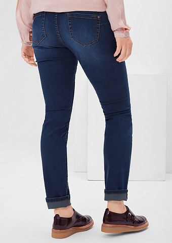 Regular: эластичный джинсы