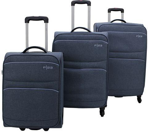 ? Текстильный чемодан комплект с 2/4 к...