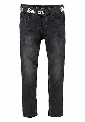 Узкие джинсы (Набор 2 части с ремень)