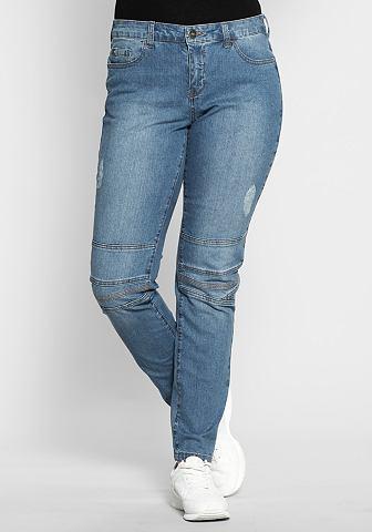 Узкий узкие джинсы в Used-Look