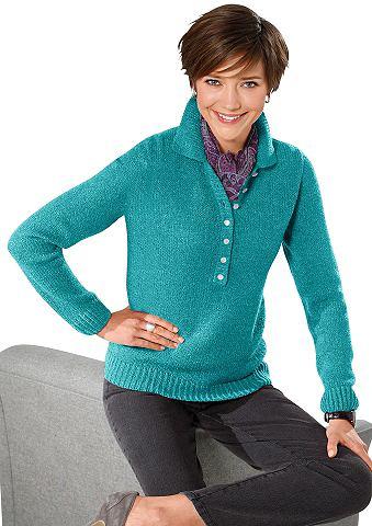 Пуловер в мягкий Boucl