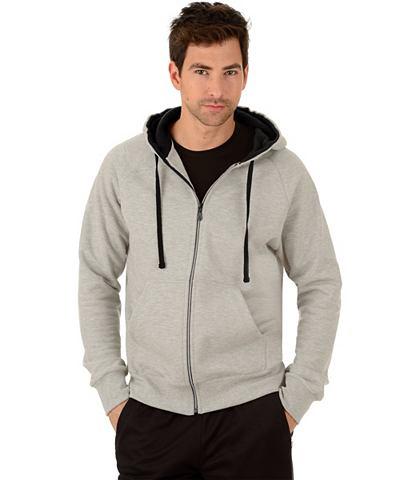 TRIGEMA Спортивный свитер с капюшон