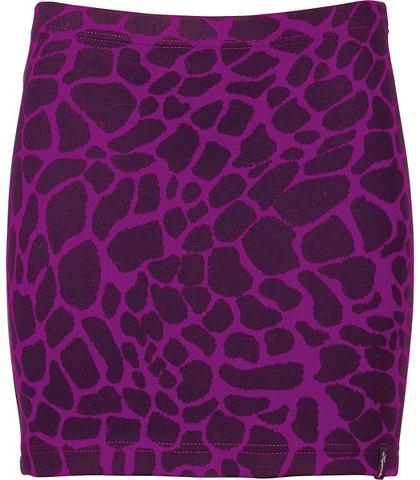 Короткий юбка-карандаш Leopard