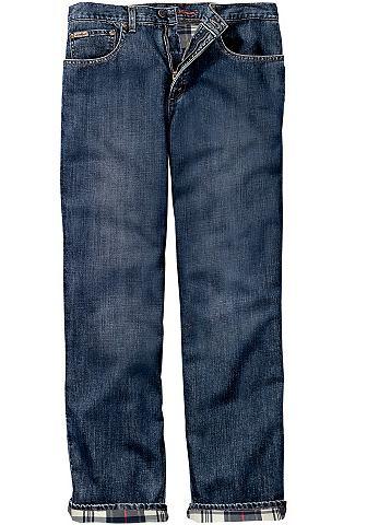 Gefütterte Relaxed форма джинсы