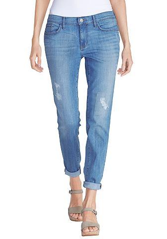 Boyfriend узкий джинсы - destroyed