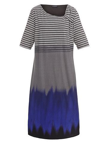 Платье с модный драпировка