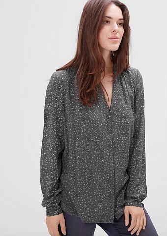 С узором блуза из Modal
