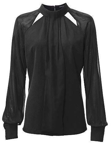 Блузка шифоновая прозрачная