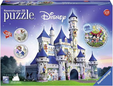 3D пазл 216 Teile »Disney Schlos...