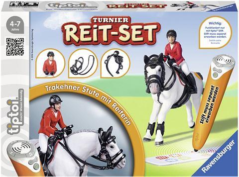 Комплект состоящий aus: Pferd Reiterin...