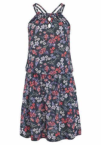 Пляжный платье пляжное с цветочный узо...