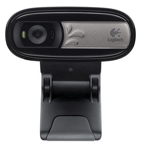 LOGITECH Webcam »WEBCAM C170 - BLACK - кл...