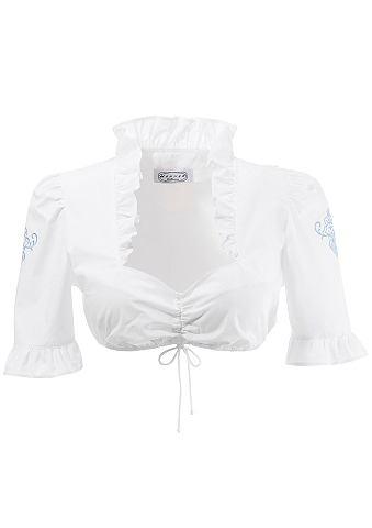 Блузка из национального костюма с рука...
