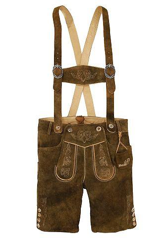 Брюки кожаные с традиционный окантовка...