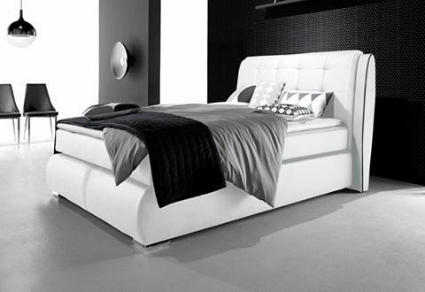 Кровать с gestepptem изголовье