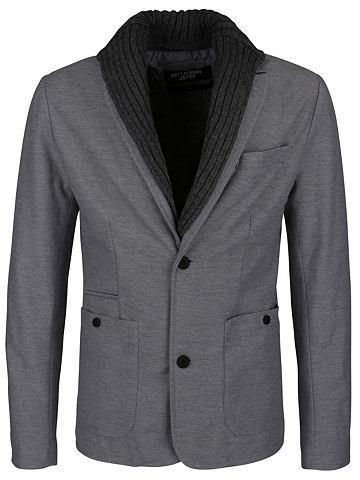 Пиджак с съемный капюшон
