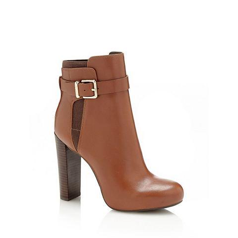 Укороченный ботинки DENISA из кожа