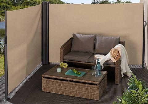 Забор маркиза крем Bx H: 600x160 cm