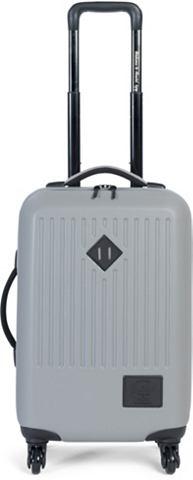 Пластиковый чемодан на колесах 4 колес...