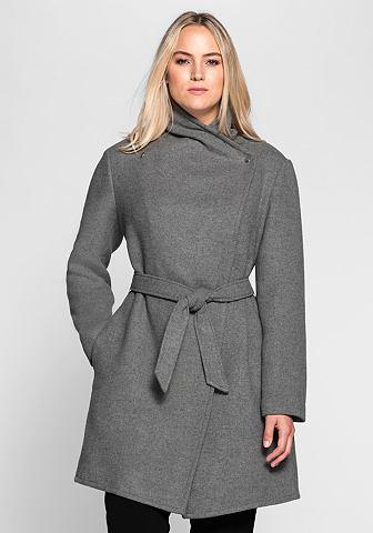 Пальто короткое в asymmetrischen фасон...