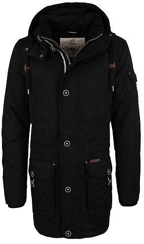 Куртка парка с съемный капюшон