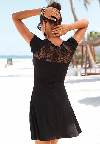 Платье пляжное с кружева в Rücken...