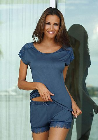 Пижама с кружева an футболка и шорты