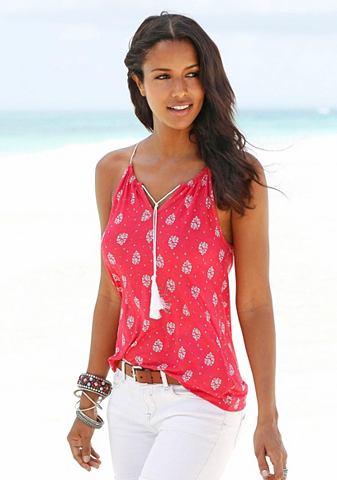 RED LABEL Пляжный пляжный топ
