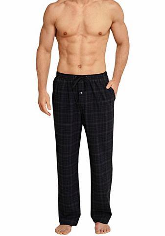 Длиный фланель штаны