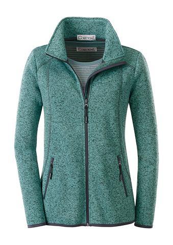 Флисовый пуловер в attraktiver Melange...