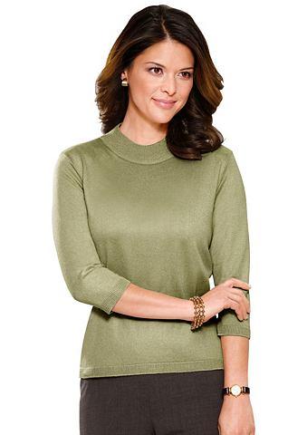 Пуловер в hochwertigen сочетание матер...